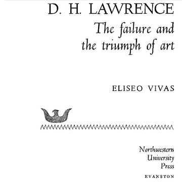 Cover of D.H. Lawrence